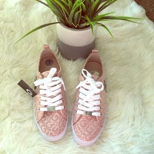 Pink Guess Sneakers